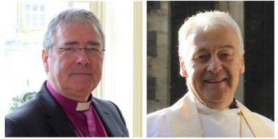 Archbishop John McDowell of Armagh and Archbishop Michael Jackson of Dublin